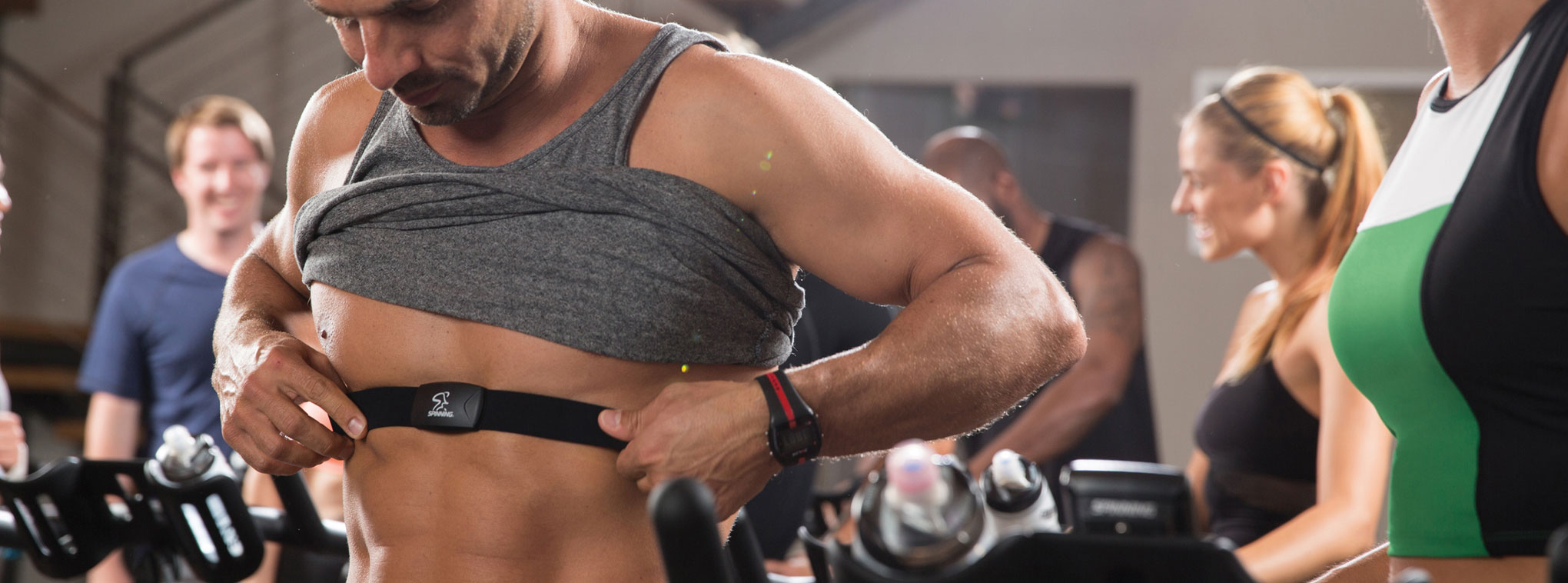 Exercise Heart Rate Monitors | Chest Strap | Spinning®