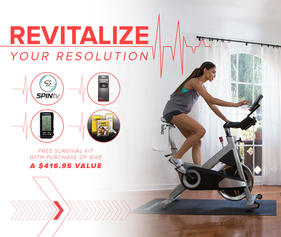 Revitalize your Resolution with a free survival kit!