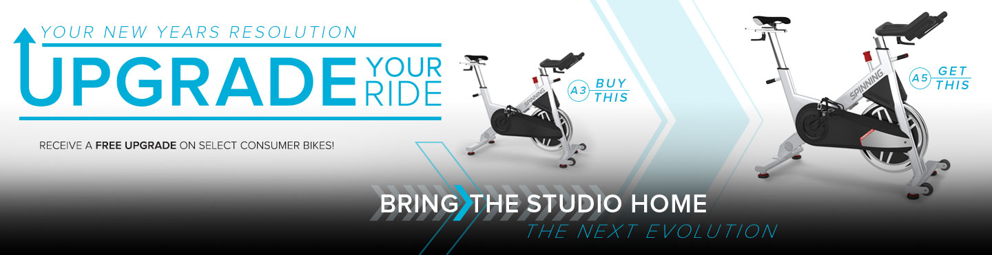 Upgrade your ride! Receive a free upgrade on select consumer bikes