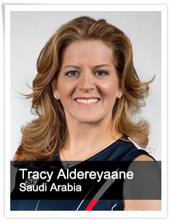 Tracy Aldereyaane