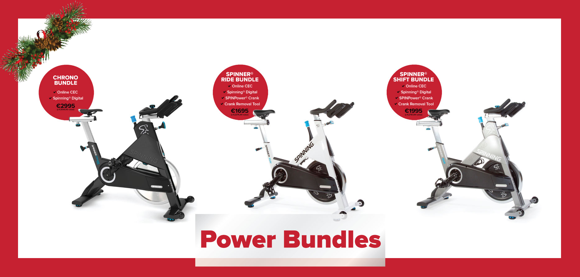 Spinning® Commercial Bike Bundles