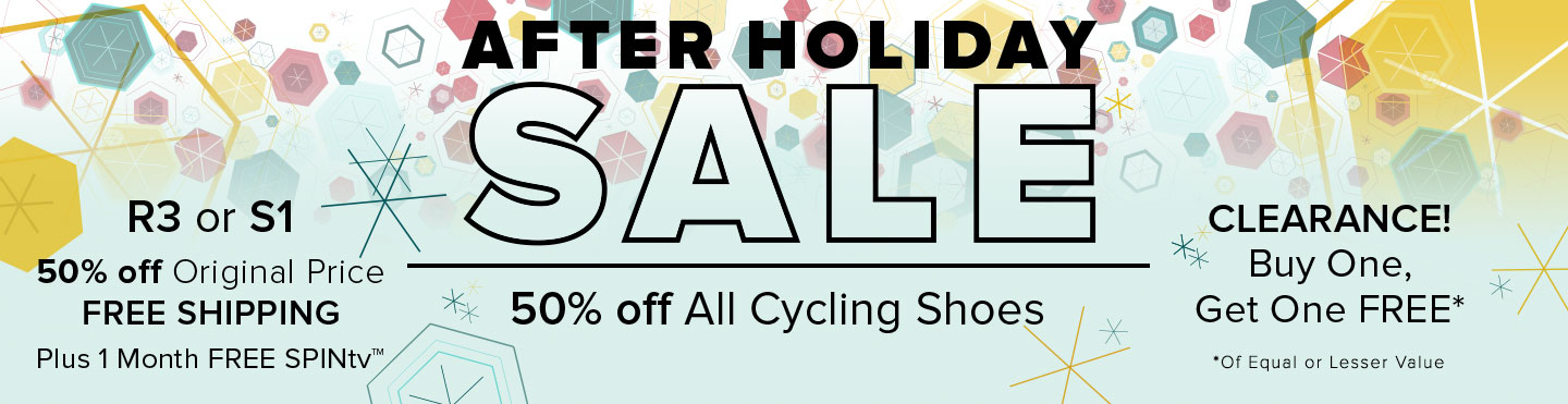 Spinning® After Holiday Sale