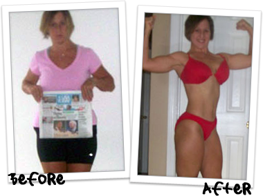 Cheryl Benyacko Thibodeau - Before and After